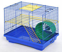 Клетка для грызунов ЛОРИ Хомяк-2 краска, цинк (330*230*270)