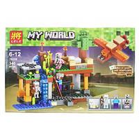 """Конструктор Minecraft """"Воздушная гавань"""" арт. 79256"""