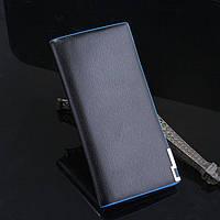 Качественный мужской кошелек портмоне. Отличный подарок для стильного мужчины. Хорошее качество.  Код: КГ617
