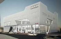 Строительство автосалонов