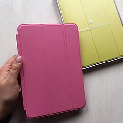 Чехол для iPad mini 1/2/3 кожаный розовый Smart Case