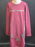 Модные  однотонные детские платья, фото 2
