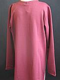 Модные  однотонные детские платья, фото 4