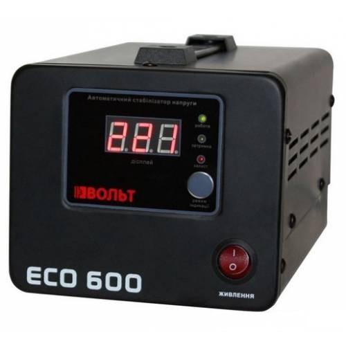 Стабілізатор напруги релейний Luxeon ECO-600 1000ВА