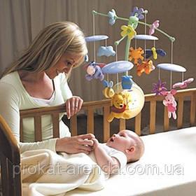 Напрокат мобиль на детскую кроватку Киев