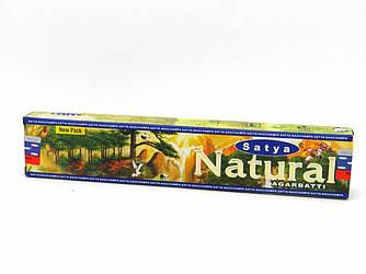 NATURAL (45GM) SATYA, АРОМАПАЛОЧКИ НАТУРАЛ