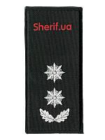 Погон Подполковник полиции на липучке (1шт) 9921