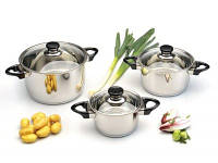 Набор посуды BergHOFF Vision Premium (1112459) 6пр., фото 1