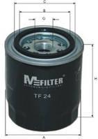 Фильтр масляный M-filter TF24 (SCT SM 124)