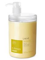Маска питательная для сухих, поврежденных и ослабленных волос LAKME K.Therapy Repair Nourishing Mask 1000 мл