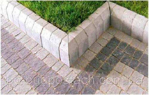 Застосування бордюрного каменю