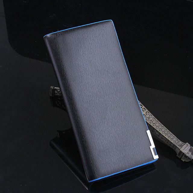 200c126396fb5 Качественный мужской кошелек портмоне. Отличный подарок для стильного  мужчины. Хорошее качество. Код: