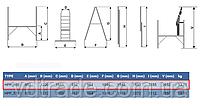 Мини-подмость Еlkop HPP 650 1,6м, фото 6