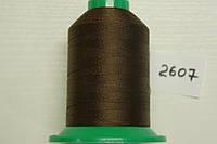Нить №60 (1000 м.) «Титан» колір 2607 коричневий