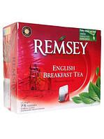 Черный чай в пакетиках Remsey English Breakfast 75 шт