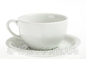 Чашка с блюдцем Ameryka lubiana 350 мл