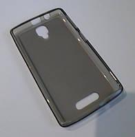 Чехол бампер силиконовый Lenovo A1000 A2800 серый
