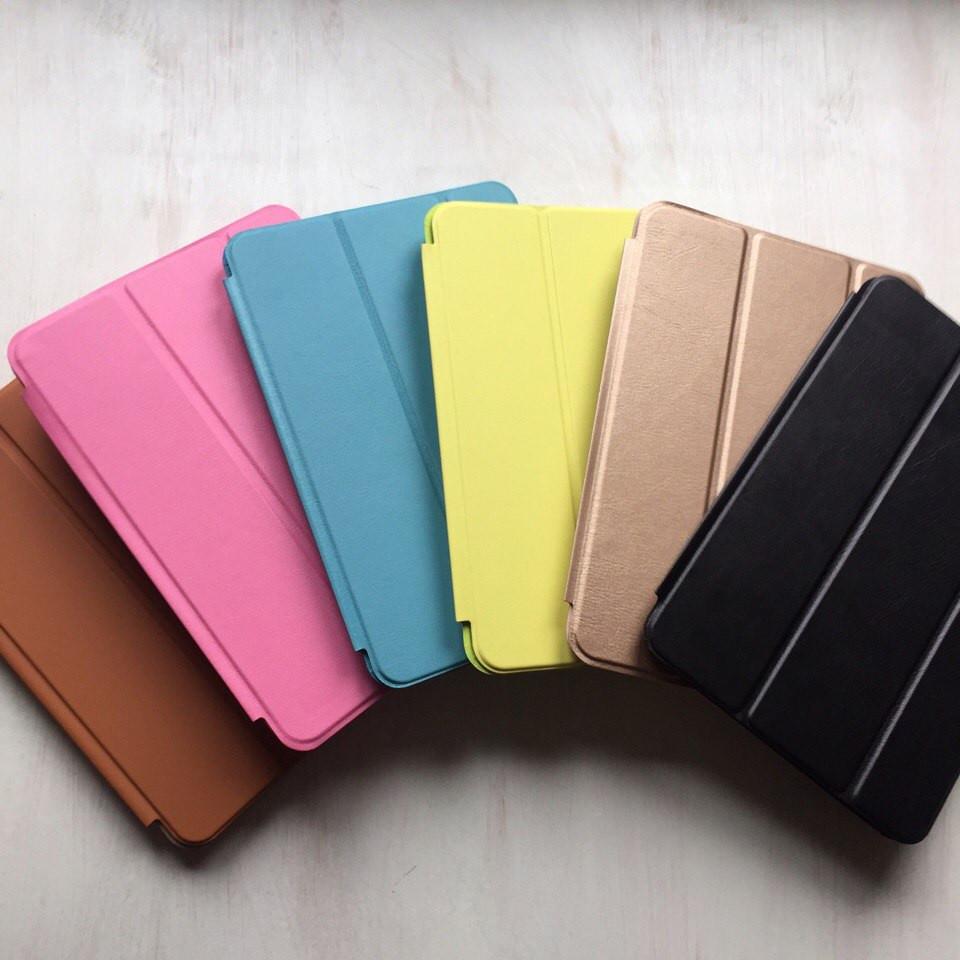 Кожаные цветные чехлы для iPad mini 2/3 Smart Case