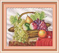 Вышивка крестом Корзина с фруктами