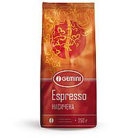 Кофе зерновой Gemini Espresso 250г.
