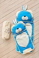Слипик  Sleep Baby 200x90 Голубой заяц. Бесплатная доставка!