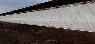 Вентиляционные шторы для коровников и телятников
