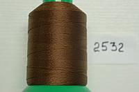 Нить №60 (1000 м.) «Титан» колір 2532 коричневий