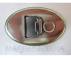 Відкривачка овальна з магнітом 69*45 з Ваших фото!