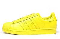 Женские кроссовки  Adidas Superstar Supercolor PW Bright Yellow (Желтый), фото 1