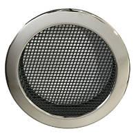 Каминная решетка Parkanex круглая, хром
