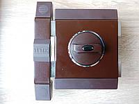 Замок накладной Gerda Tytan ZX GT8 (длинный ключ) Цвет: коричневый