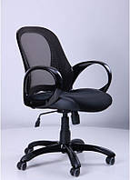 Кресло Матрикс LB черный, сиденье Сетка черная