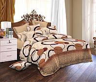 Полуторный комплект постельного белья Мираж