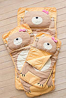 Слипик детский Sleep Baby 170x70 Кошечка. Бесплатная доставка!
