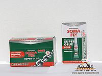 SOMA FIX Клей, супер клей, 3 гр. 808Е