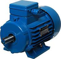 Электродвигатель 0,37 кВт АИР71А6 \ АИР 71 А6 \ 1000 об.мин, фото 1