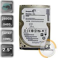 """Жесткий диск 2.5"""" 250Gb Seagate ST250LT012 (16Mb/5400/SATAII) REF"""