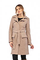 Классическое демисезонное пальто из кашемира Букле (рр 44-50) бежевый, разные цвета