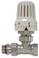 VT.048 Клапан с термостат.голівкою  Ду 15 прямий