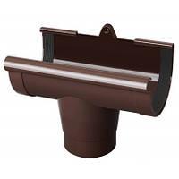 Водоприймач прохідний 125 коричневий