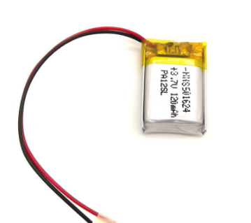 Аккумулятор для Bluetooth гарнитур 120 mAh 5x16x24мм