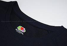 Мужская Спортивная Футболка Fruit of the loom Глубокий Тёмно-Синий 61-390-Az L, фото 3