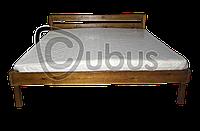 Кровать двуспальная ЭКО люкс 120/190 (орех)