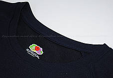 Мужская Спортивная Футболка Fruit of the loom Глубокий Тёмно-Синий 61-390-Az Xl, фото 3