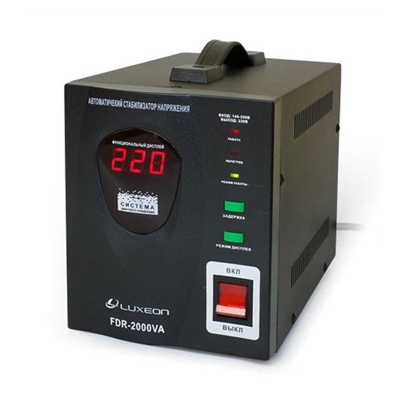 Стабилизатор напряжения Luxeon FDR-2000 релейный 2000ВА