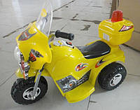 Детский электромотоцикл трицикл Tilly с звуковыми сигналами и MP3 выходом