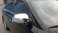 Накладки на зеркала с поворотом Hyundai Sonata NF 06-10