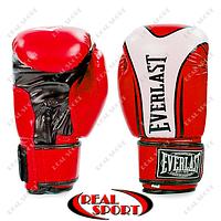 Перчатки боксерские Flex на липучке Everlast BO-0225-Red Fight-Star