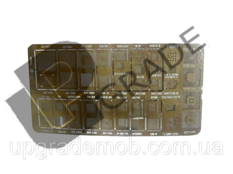 Трафарет T163/T165, T=0.25mm - UPgrade-запчасти для мобильных телефонов и планшетов в Днепре