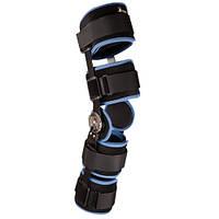 Послеоперационный шарнирный коленный ортез Ligaflex® Post-op, открытая модель.